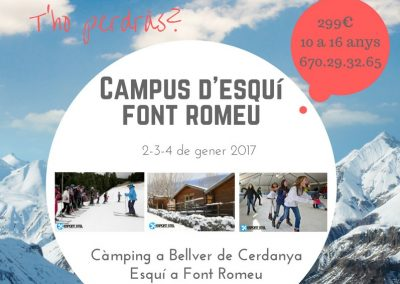 Campus d'esquí 2017