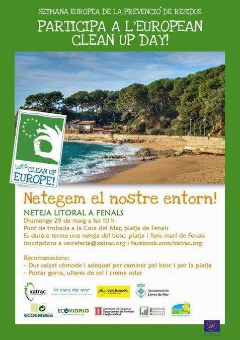 Jornada de Neteja del litoral a Sant Feliu de Guíxols