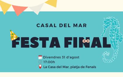 Festa final Casal del Mar 2018