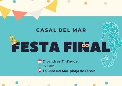 Festa final del Casal del Mar 2018