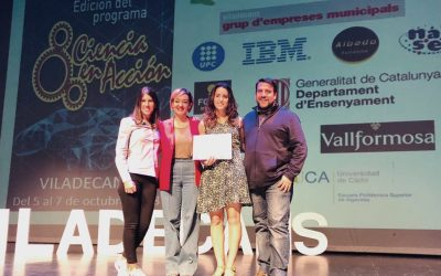 """Xatrac, Mosquito Alert i l'ASPB reben el 1r premi de """"Ciencia en Acción"""" en la modalitat de Materials didàctics"""