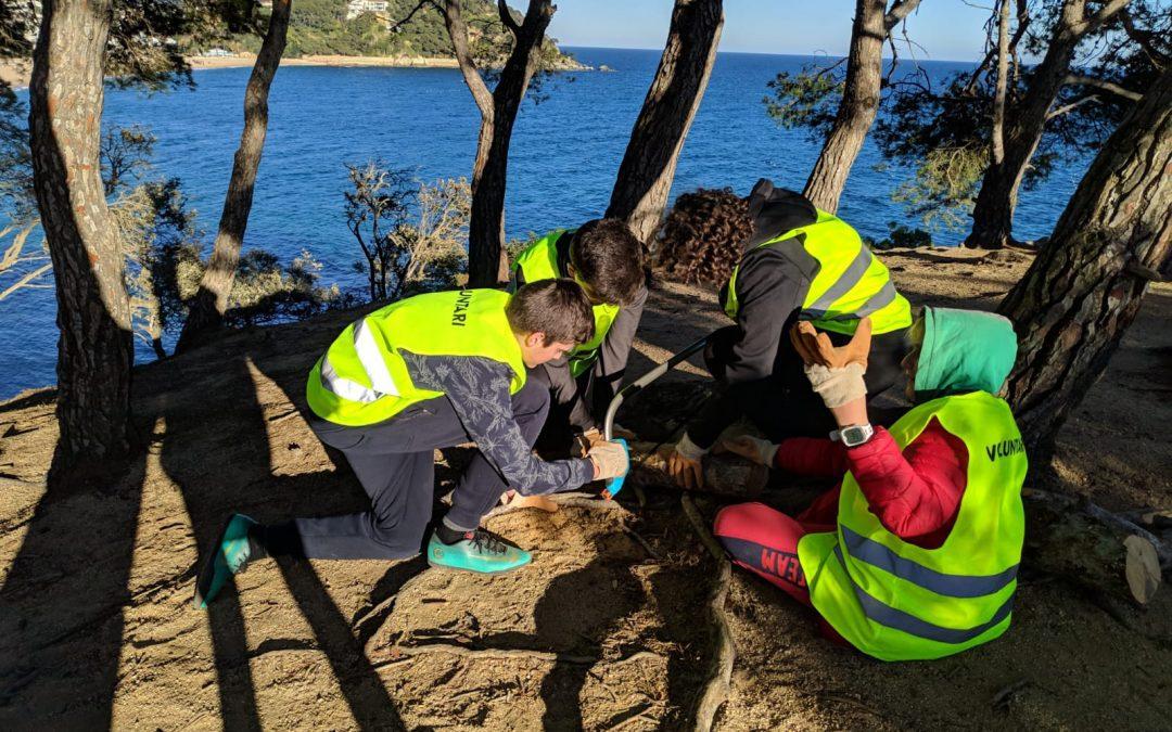 """Projecte """"Millora de l'estat de conservació dels ecosistemes litorals i boscosos de Fenals"""""""