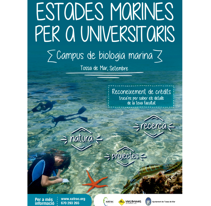 Estades Marines per a Universitaris